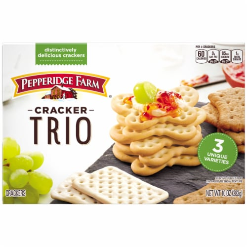 Pepperidge Farm Cracker Trio Perspective: back