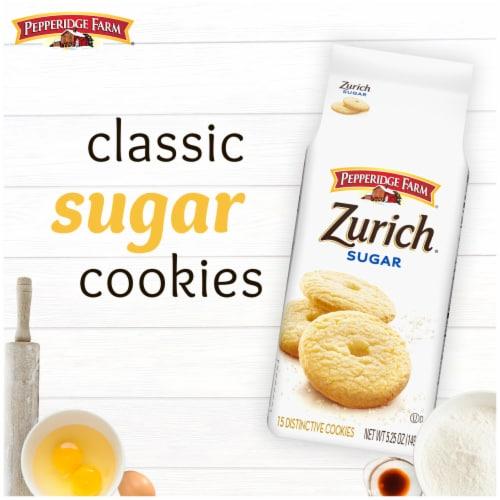 Pepperidge Farm Sweet & Simple Sugar Cookies Perspective: back