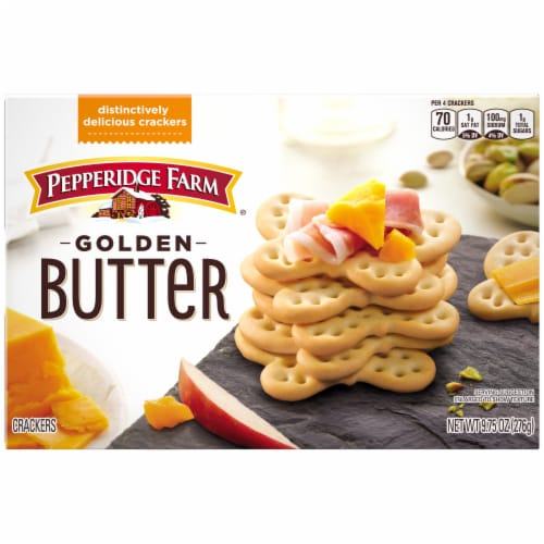 Pepperidge Farm Golden Butter Crackers Perspective: back