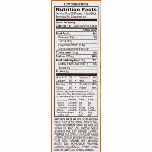 Pepperidge Farm Goldfish Crackers (66 Ounce) Perspective: back