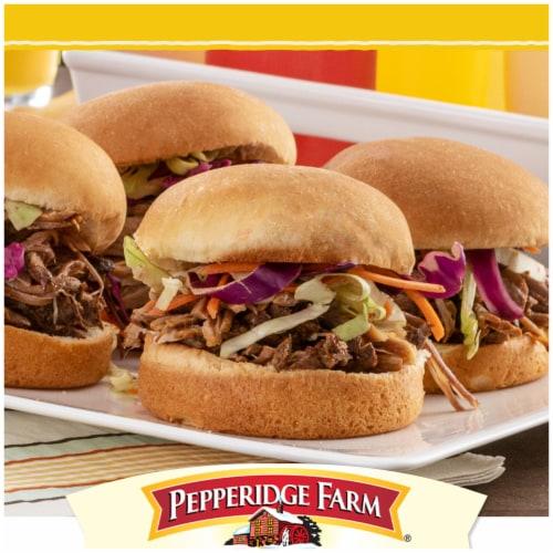 Pepperidge Farm Bakery Classics Golden Potato Hamburger Buns Perspective: back
