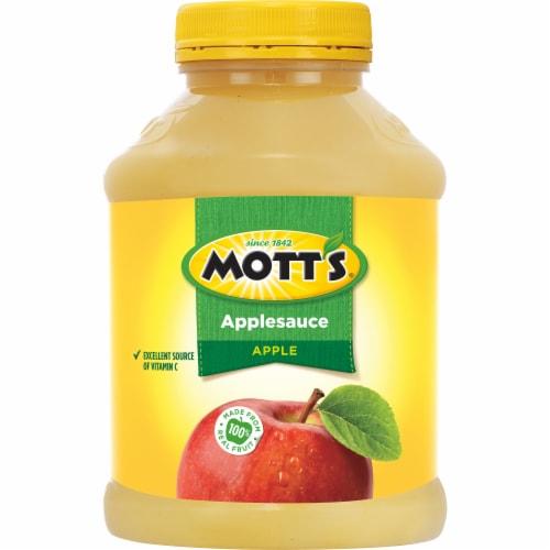 Mott's® Applesauce Jar Perspective: back