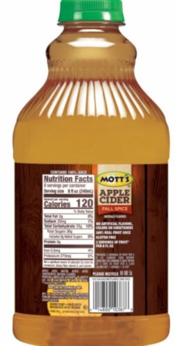 Mott's Fall Spice Apple Cider Perspective: back