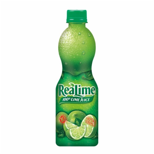 ReaLime 100% Lime Juice Perspective: back