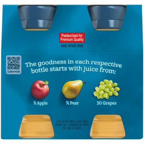 Gerber® Fruit Juice Variety Pack Perspective: back