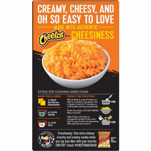 Cheetos Bold & Cheesy Cheddar Mac'N Cheese Perspective: back