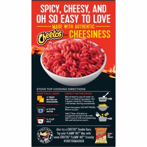 Cheetos® Flamin' Hot® Mac'N Cheese Pasta Mix Perspective: back