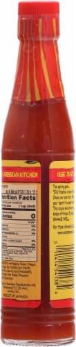Walkerswood Plenty Hot Jamaican Fire Stick Pepper Sauce Perspective: back