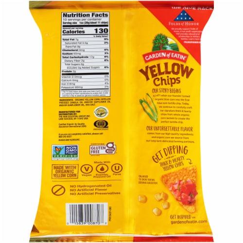 Garden of Eatin'® Yellow Tortilla Chips Perspective: back