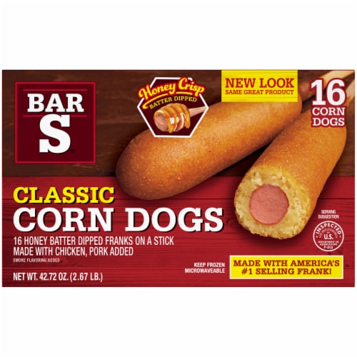 Bar-S Classic Corn Dogs Perspective: back