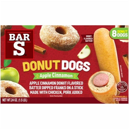Bar-S Apple Cinnamon Donut Dogs 8 Count Perspective: back