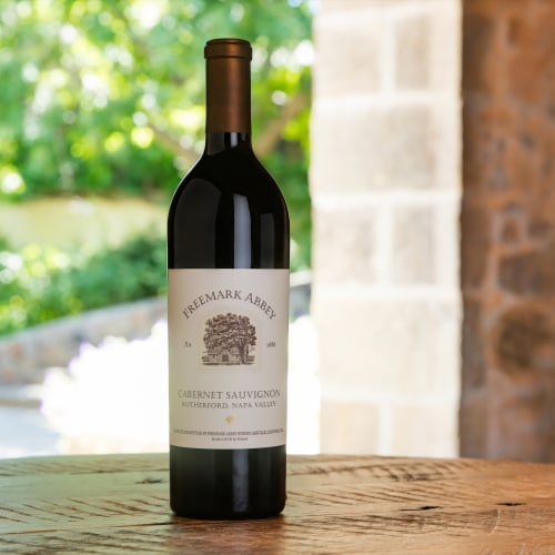 Freemark Abbey Napa Valley Cabernet Sauvignon Red Wine Perspective: back