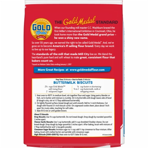 Gold Medal Self-Rising Flour Perspective: back