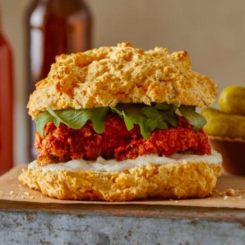 Bisquick Complete Cheese Garlic Biscuit Mix Perspective: back