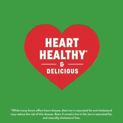 Basic 4 Fruit & Almonds Multigrain Cereal Perspective: back