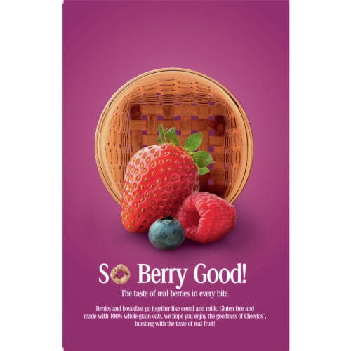Cheerios™ Very Berry Cereal Perspective: back
