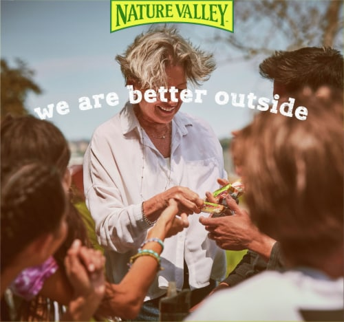 Nature Valley Sweet & Salty Nut Roasted Mixed Nut Chewy Granola Bars Perspective: back