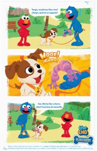General Mills Sesame Street® 123 Berry Cereal Perspective: back