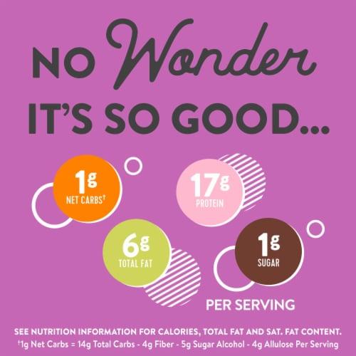 Wonderworks Keto Friendly Chocolate Cereal Perspective: back