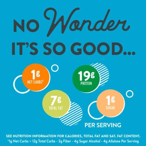 Wonderworks Keto Friendly Peanut Butter Cereal Perspective: back