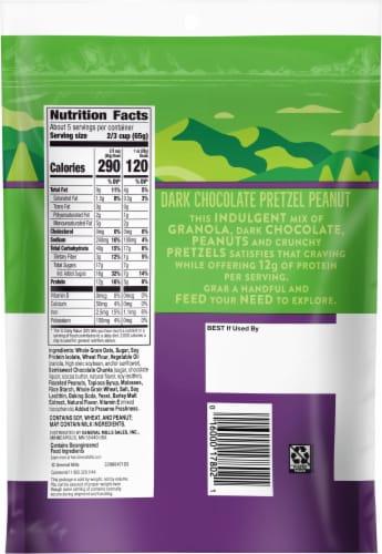 Nature Valley™ Sweet & Salty Dark Chocolate Pretzel Peanut Granola Perspective: back