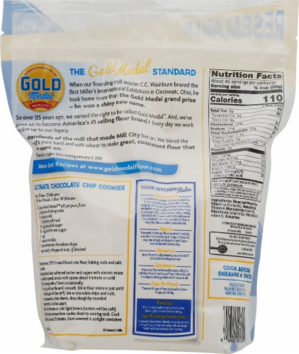 Gold Medal All Purpose Flour Perspective: back