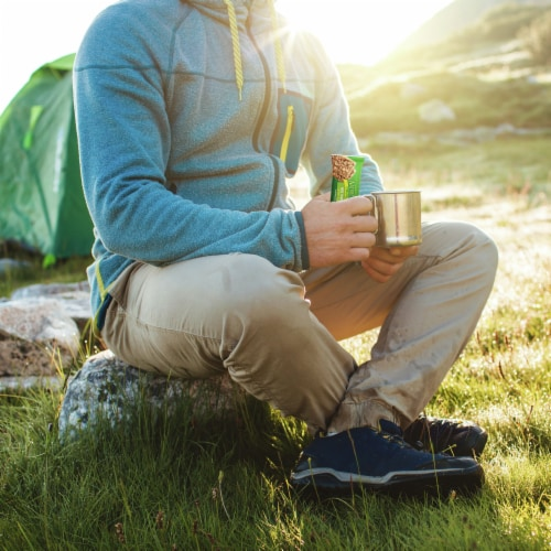 Nature Valley Crunchy Oats 'N Honey Granola Bars Perspective: back