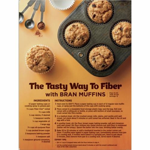 Fiber One Original Bran Cereal Perspective: back