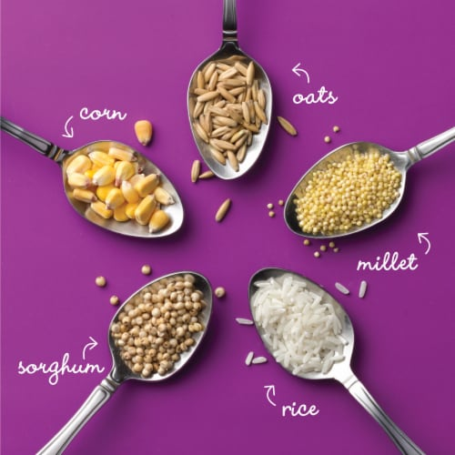 Cheerios Multi-Grain Lightly Sweetened Cereal Perspective: back