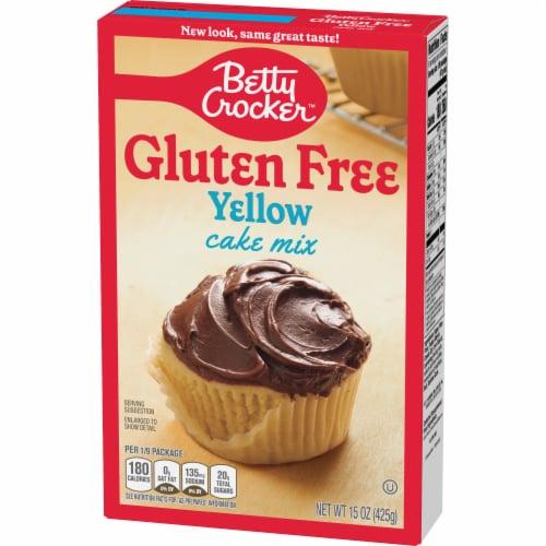 Betty Crocker Gluten Free Yellow Cake Mix Perspective: back