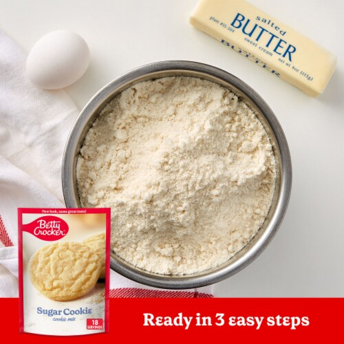 Betty Crocker Sugar Cookie Mix Perspective: back