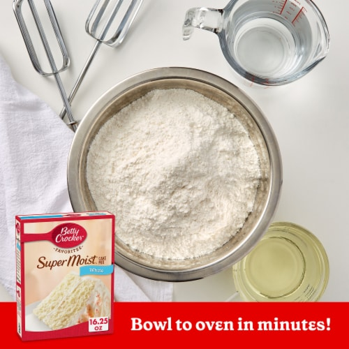 Betty Crocker Favorites Super Moist White Cake Mix Perspective: back