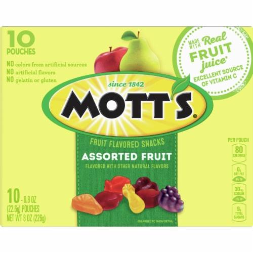 Mott's Original Assorted Fruit Snacks Perspective: back