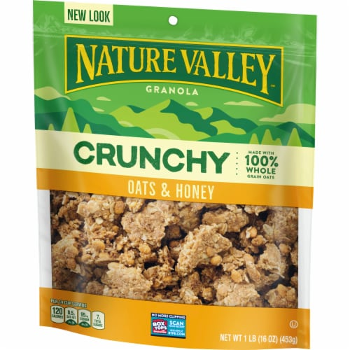 Nature Valley™ Crunchy Oats & Honey Granola Perspective: back