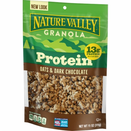 Nature Valley™ Oats & Dark Chocolate Protein Granola Perspective: back