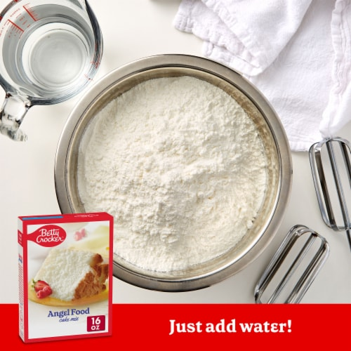 Betty Crocker Angel Food Cake Mix Perspective: back