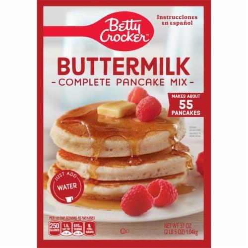 Betty Crocker Complete Buttermilk Pancake Mix Perspective: back