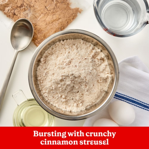 Betty Crocker Cinnamon Streusel Muffin & Quick Bread Mix Perspective: back