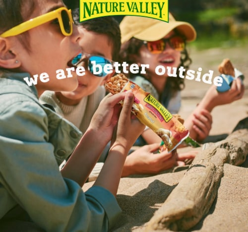 Nature Valley Sweet & Salty Nut Chocolate Pretzel Nut Granola Bars Perspective: back