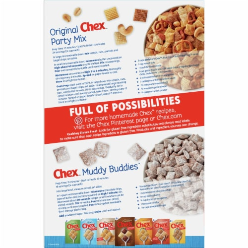 General Mills Rice Chex™ Gluten Free Breakfast Cereal Perspective: back