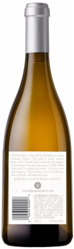 Chalk Hill Chardonnay White Wine Perspective: back