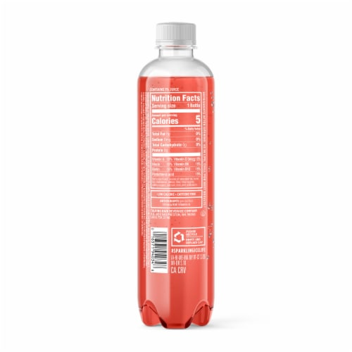 Sparkling Ice Peach Nectarine Sparkling Water Perspective: back