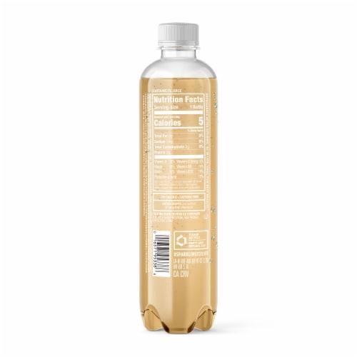Sparkling Ice Ginger Lime Flavored Sparkling Water Perspective: back