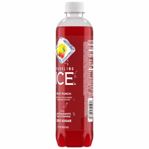 Sparkling Ice Fruit Punch Sparkling Water Perspective: back
