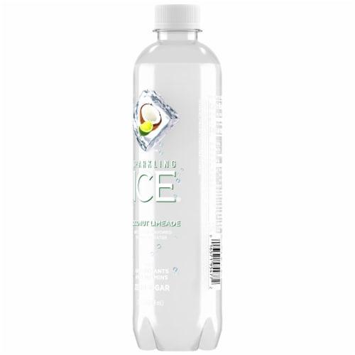 Sparkling Ice Coconut Limeade Zero Sugar Sparkling Water Perspective: back