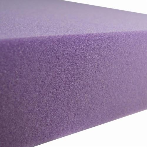 Foamex Foam Shape - Purple Perspective: back