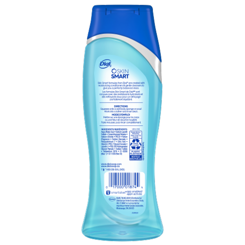 Dial Spring Water Hydrating Body Wash Perspective: back
