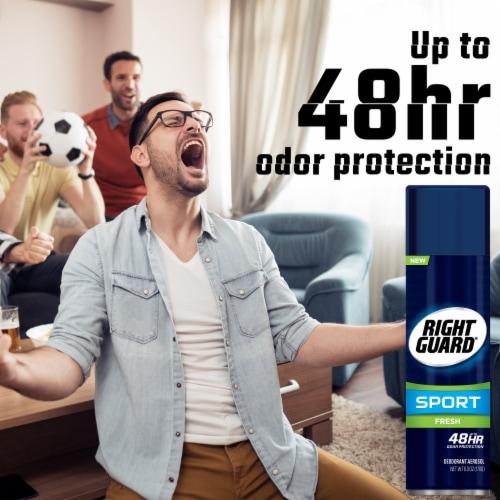 Right Guard® Sport Aerosol Fresh Deodorant Perspective: back