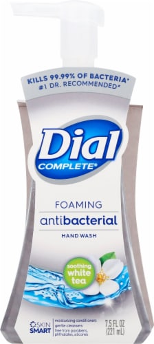 Dial Complete Soothing White Tea Foaming Antibacterial Hand Wash Perspective: back