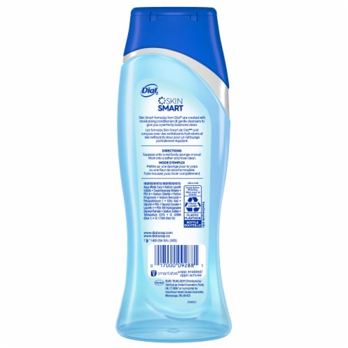 Dial Coconut Water Hydrating Body Wash Perspective: back